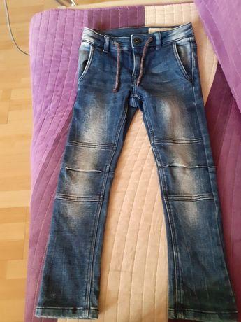 Wąskie jeansy z Lidla spodnie rurki