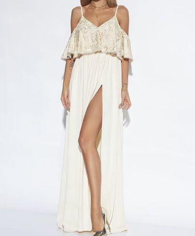 Długa sukienka Lou