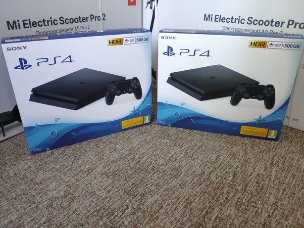 Консоль Sony PlayStation PS 4 Slim 500GB игровая приставка новая