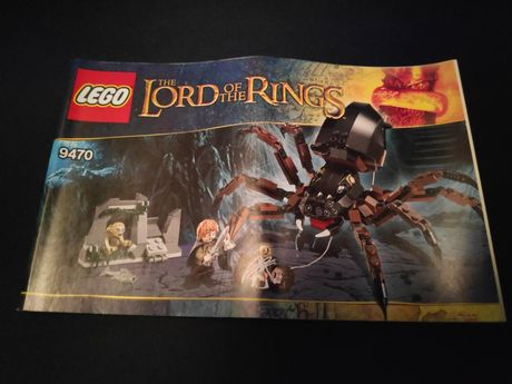 Lego 9470 Lord of The Rings Shelob Attacks Władca Pierścieni