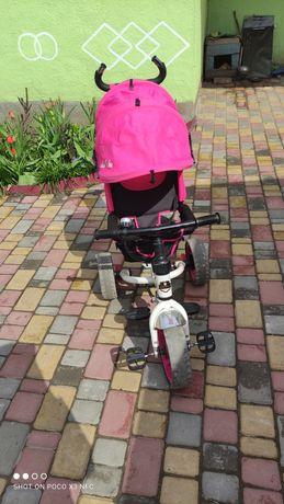 Продам велосипед розовий
