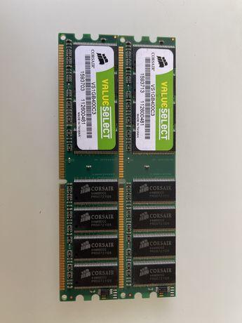 Corsair Value Select DDR 1Gb 400MHz 3200U CL3 2.5V (VS1GB400C3)
