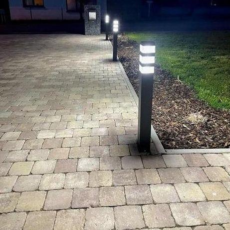 Lampa zewnętrzna słupek 80cm LED Pyramide 1500 lumen, barwa neutralna