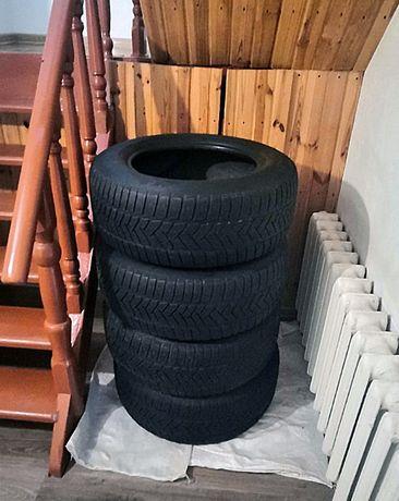 Целый комплект! Зимние шины Dunlop Winter Sport 3D | MS 255/60 R17.
