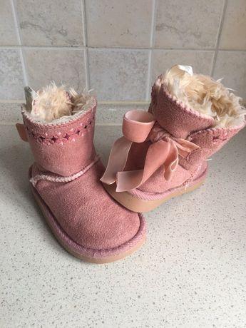 Уги сапоги ботинки детские для девочки Primark 24р