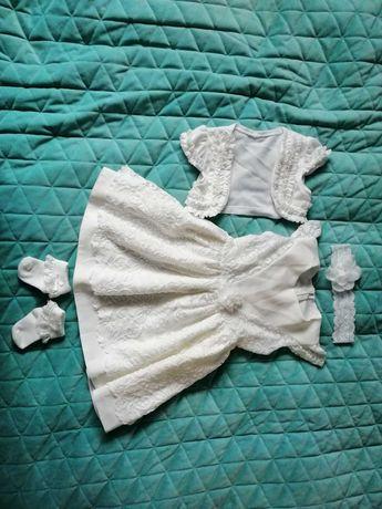 Ubranko sukienka do chrztu