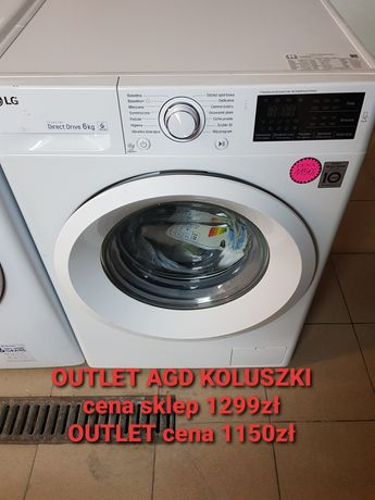 Outlet Pralka LG Nowa Direct Drive 6kg