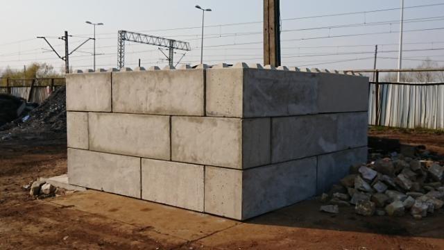 Bloki betonowe , blok betonowy, mur oporowy, zasieki w Rzeszowie