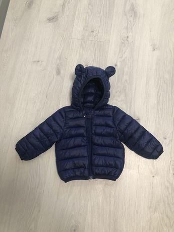 Детская куртка с ушками. На синтепоне. Весна 2021.