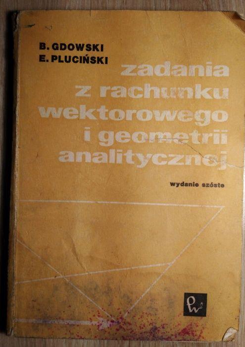Zadania z rachunku wektorowego i geometrii analitycznej Gdowski Pluciń Wrocław - image 1