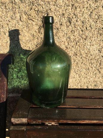 Garrafão vidro verde
