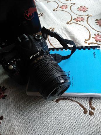 Aparat Nikon d90 + obiektyw