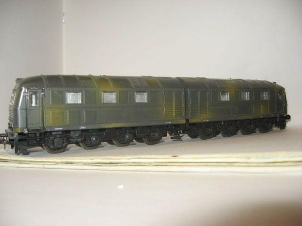 Тепловоз V188 локомотив Lima. Железная дорога Пико Piko 1.87