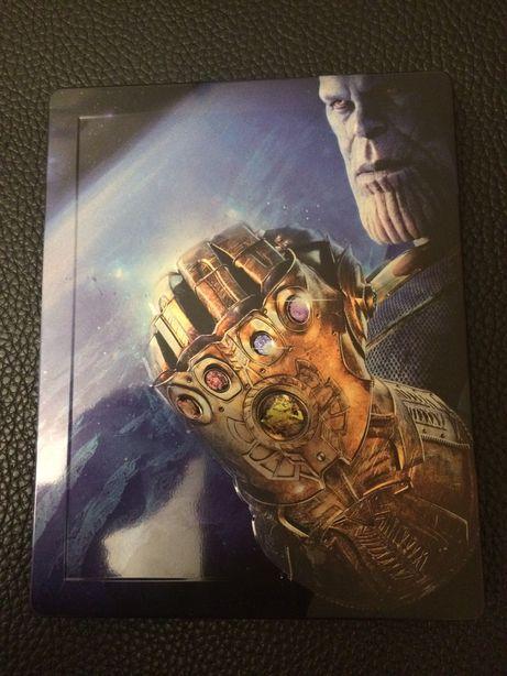 Avengers Infinity War steelbook blu-ray