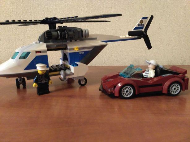 Конструктор Lego полицейский вертолет