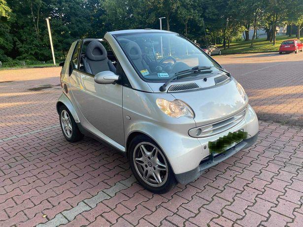 Smart Cabrio tanio 3600 przebieg 57tys