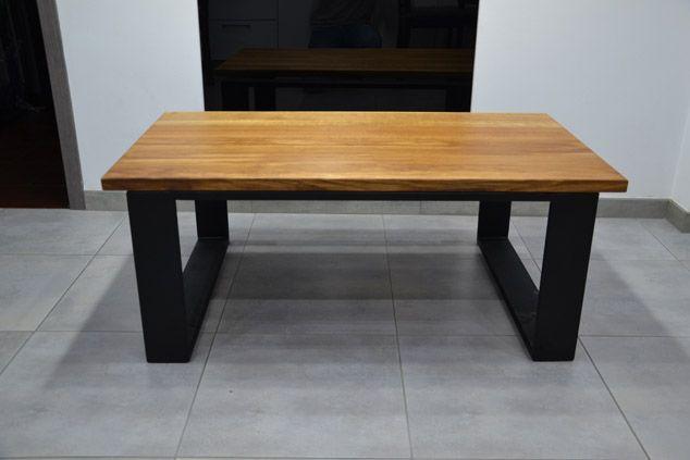 Nogi metalowe do stołu stolika ławy wyspy loft INDUSTRIAL Nowoczesne