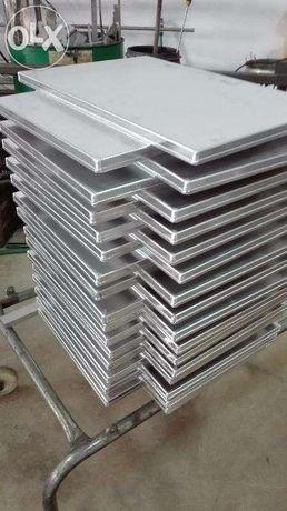 Tabuleiros Pastelaria 60x40x2 aluminio
