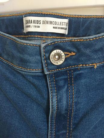 Spodnie jeans Zara r. 110/116