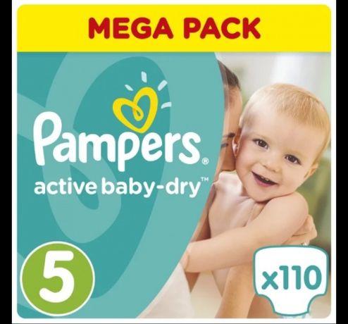 Pampers Active Baby JUNIOR (11-18 КГ) MEGA 110 ШТ.
