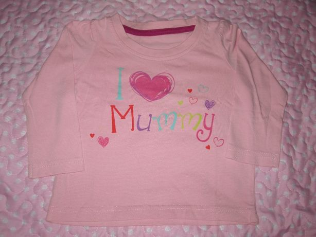 Camisola Mummy, TAM 12 meses