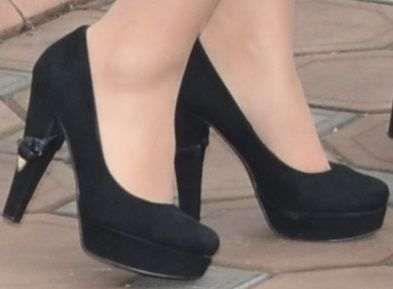 Нубуковые туфельки