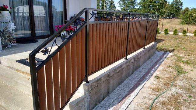 ogrodzenia balustrady schody bramy