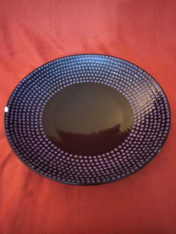 Taça porcelana decoração centro de mesa