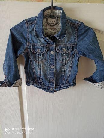 Джинсовый пиджак куртка next 116