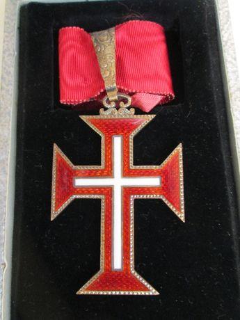 Estojo Condecoração/Medalha Grande-Oficial Ordem Militar de Cristo
