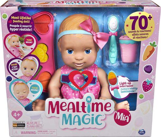 Интерактивная кукла Миа Mealtime Magic Mia Luvabella Лувабелла с едой