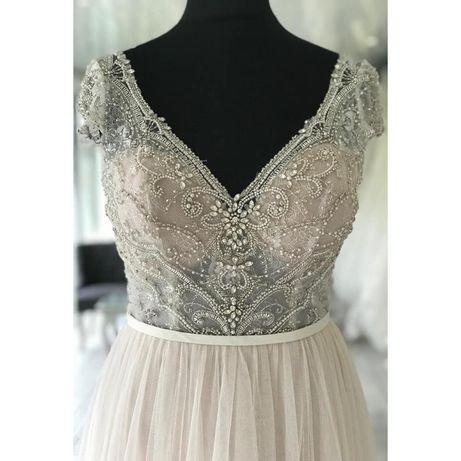 Nowa, niższa cena! Bajeczna suknia ślubna Stella York 6628