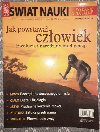 Świat Nauki wydanie specjalne Jak powstał człowiek