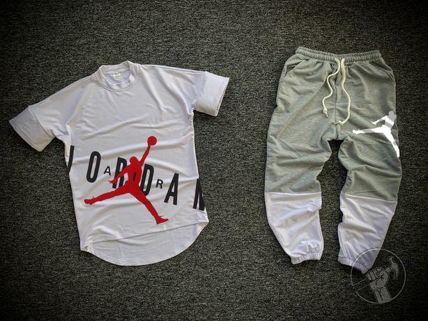 Мужские спортивные костюмы/комплекты оверсайз. Футболка + штаны