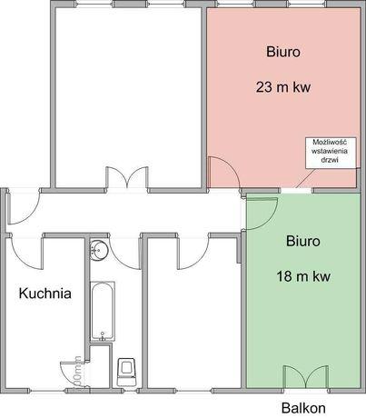 Lokal biurowy Gdańsk-Wrzeszcz ul. Aldony 10