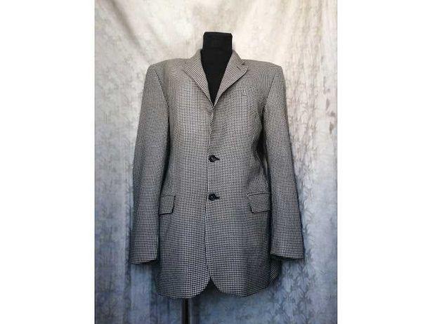 Удлинённый пиджак в гусиную лапку Marks & Spencer. Тренд 2021!