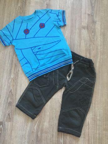 Продам летний костюм бриджи и футболка для мальчика 4-5лет