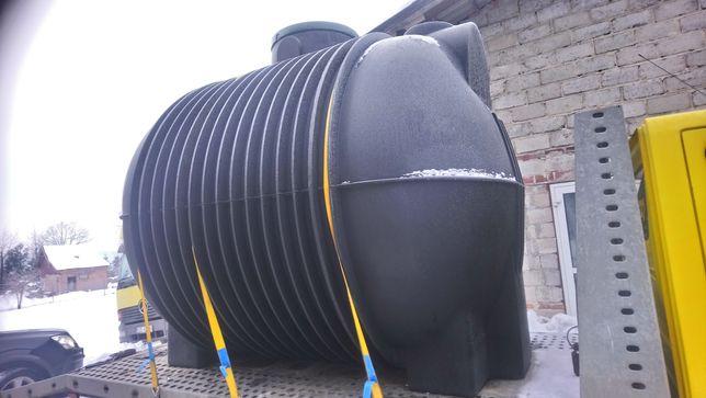Zbiornik na deszczówkę 10000L 10m3 pojemnik podziemnk beczka MOJA WODA