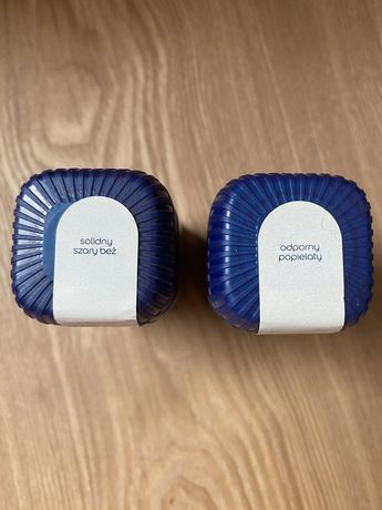 Tester farby Dulux EasyCare odporny popielaty i solidny szary beż