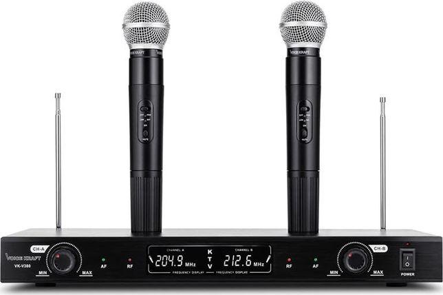 Zestaw mikrofonów bezprzewodowych Voice Kraft VK-380