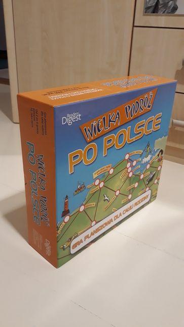 Gra planszowa Wielka Podróż po Polsce dla całej rodziny