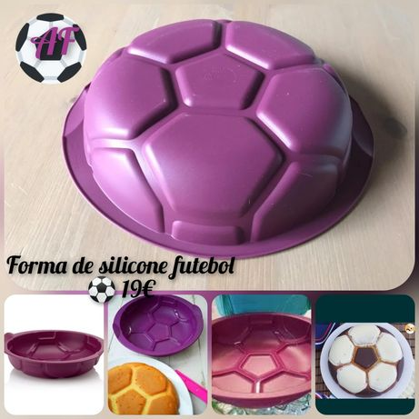 Forma de silicone bola Tupperware
