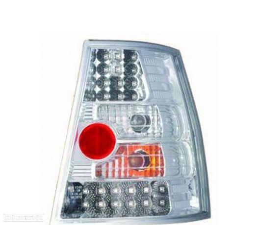 FAROLINS TRASEIROS LED GOLF 4 MK IV VARIANT 97-03 CROMADOS