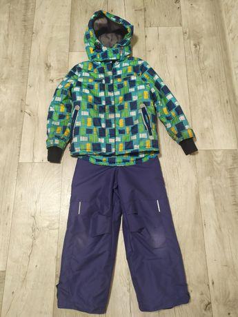 Зимний комплект, комбинезон и курточка