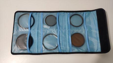 Bolsa porta filtros UV novo