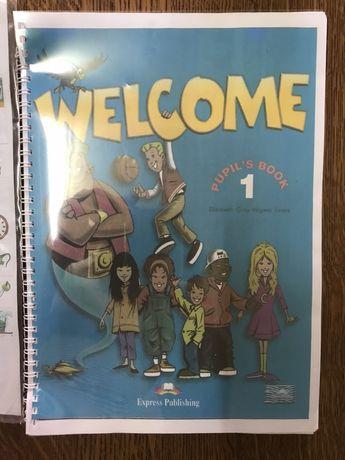 Учебник+тетрадь, английский язык, WELCOME 1 starter, Express Publishin