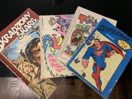 Komiksy Tytus, Superman, Skradziony Skarb