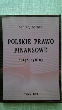 Polskie Prawo Finansowe, Andrzej Borodo ! Stan Idealny ! TANIO !!!