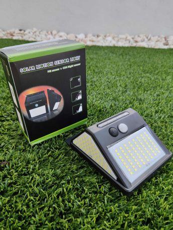 Luz Solar 144 LEDs EXTERIOR NOVO ( na compra de 4, fica 10€ cada um)