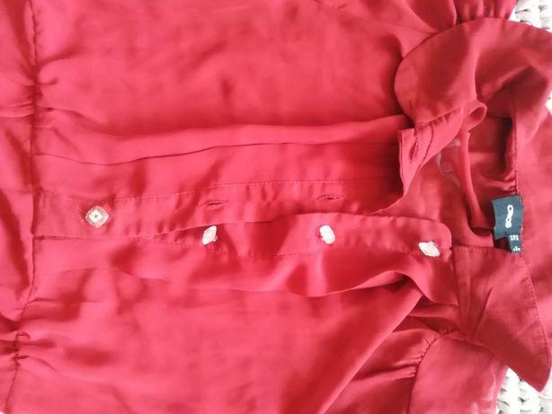 Sukienka letnia czerwona